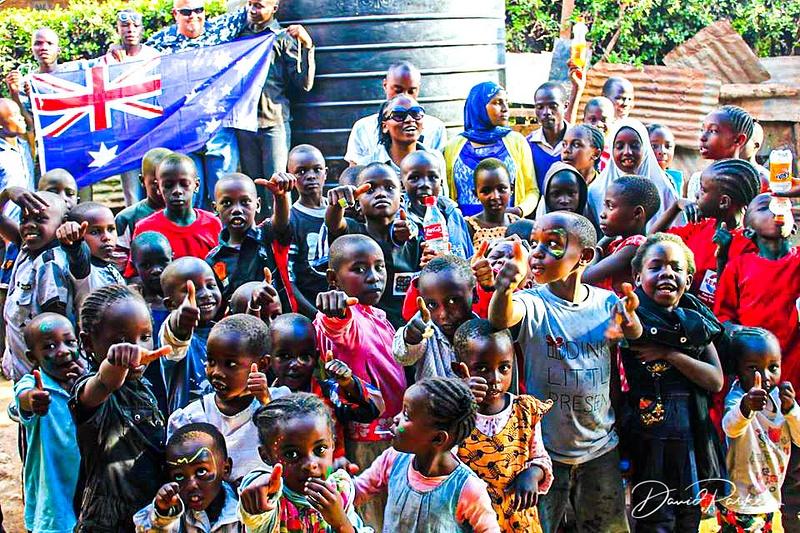 Aussie in Kenyan School