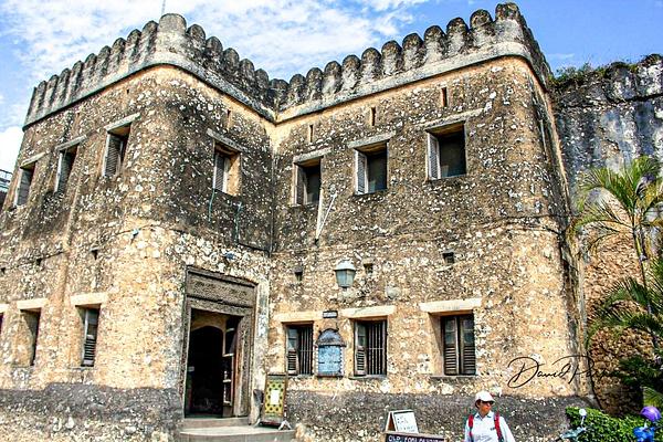 Fortress, Stone Town, Zanzibar by DavidParkerPhotography