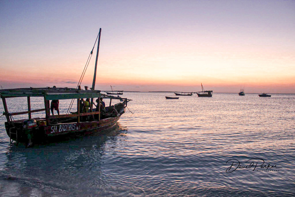 Sunset, Zanzibar by DavidParkerPhotography