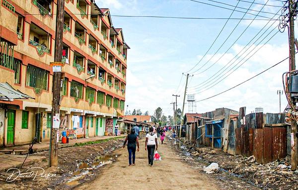 Dagoretti Slum, Nairobi, Kenya by DavidParkerPhotography