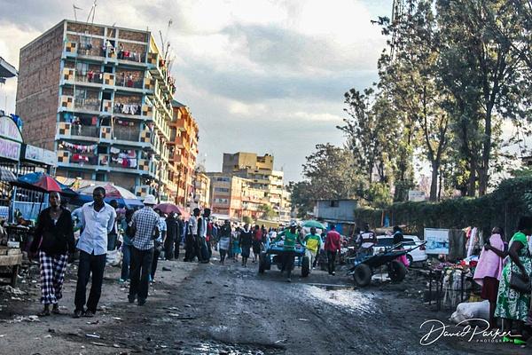 Nairobi Slum by DavidParkerPhotography