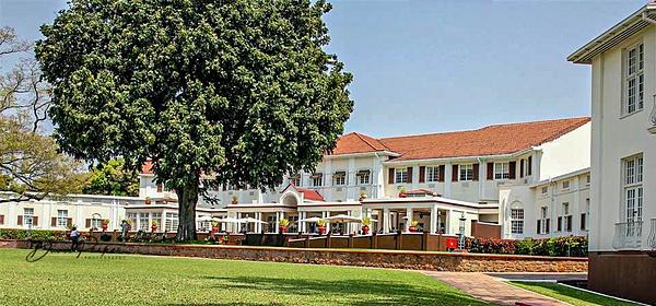 Victoria Falls Hotel, Zimbabwe by DavidParkerPhotography