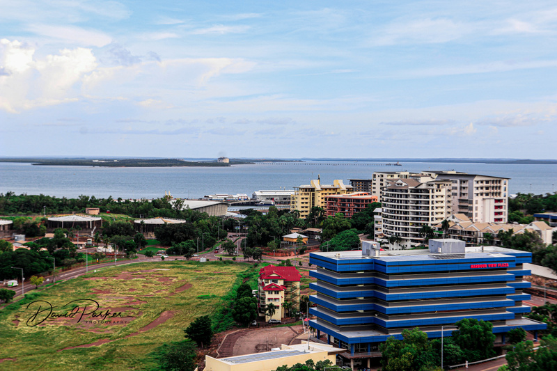 Darwin, and Harbour