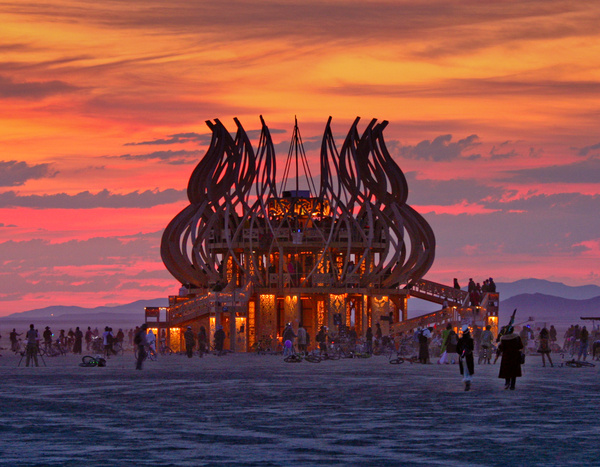 Burning Man by Phil Steele by Phil Steele