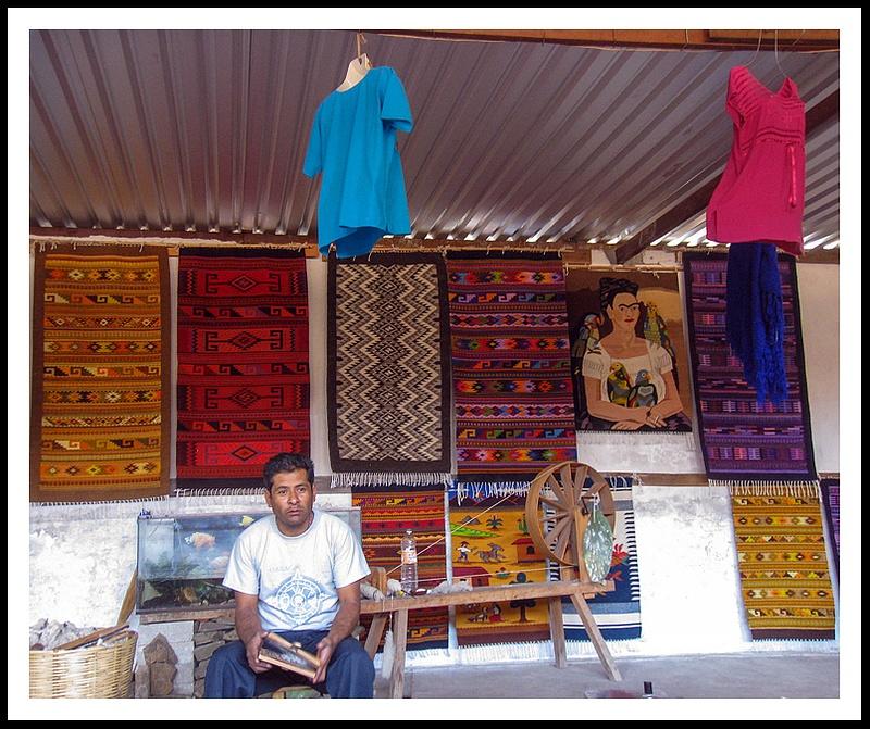 15 Weaving in Teotitila de Valle