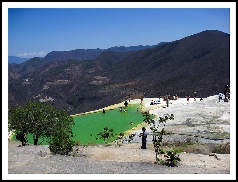 16 Hierve EL Agua - Springs