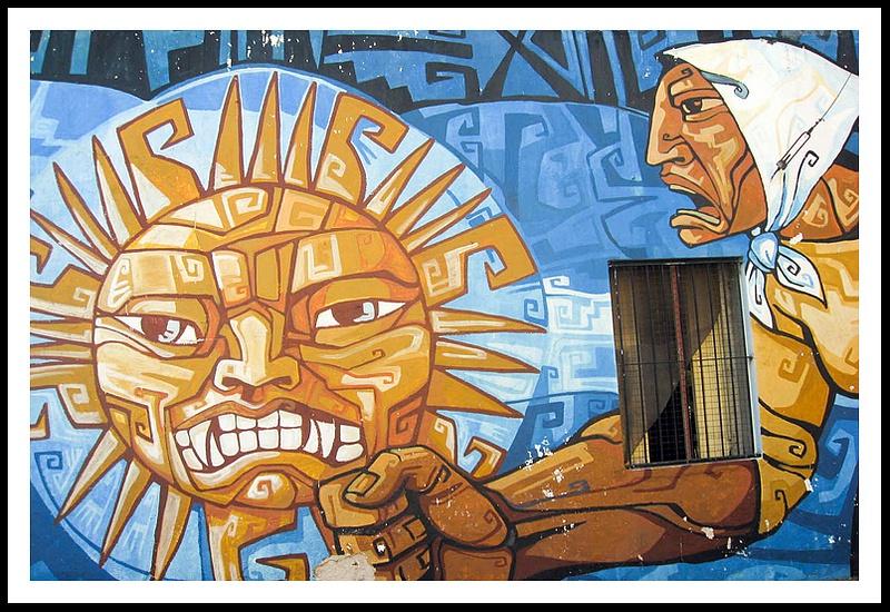 17 Mural, La Boca, Buenos Aires, Argentina
