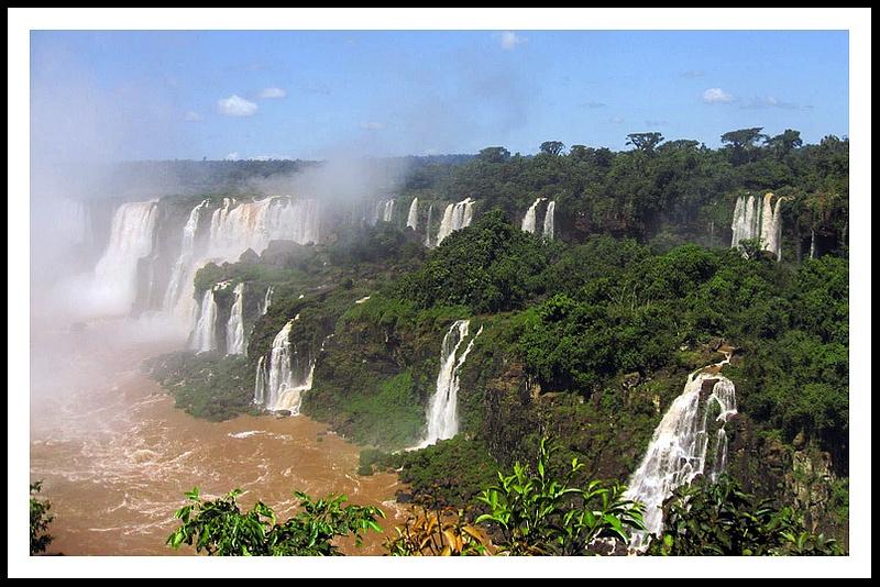 30 Iguazu falls