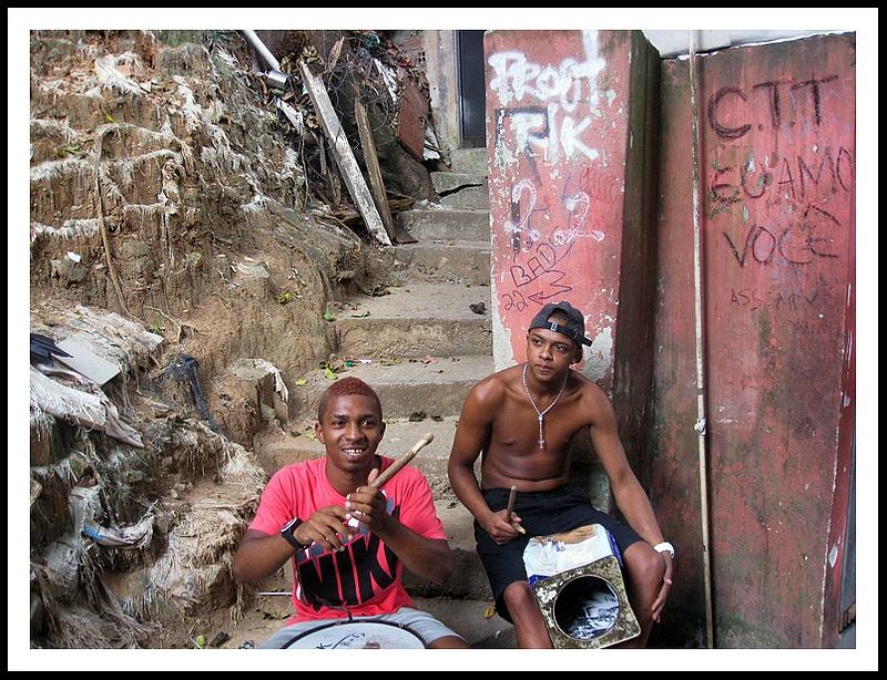 63 Inside the Favela Rosario, Rio, Brazil