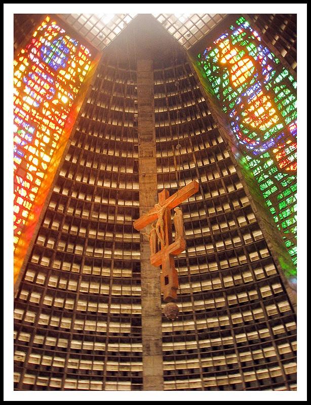 67 San Sebastian Cathedral, Rio, Brazil