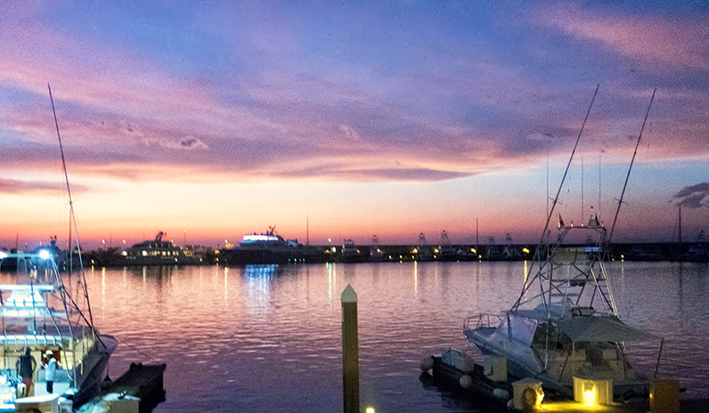 evening at the harbour CR