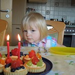 Isabel's second birthday