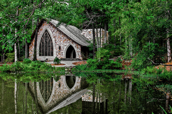 Callaway Gardens Chapel - Clicking with Nature Photography