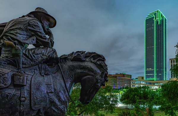 Dallas Past & Present - Cityscapes - John Roberts - Clicking With Nature®