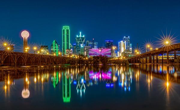 Downtown Dallas Trinity Reflections - Portfolio - John Roberts