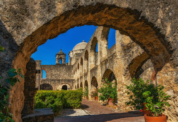 Mission San Jose - Texas - John Roberts - Clicking With Nature®