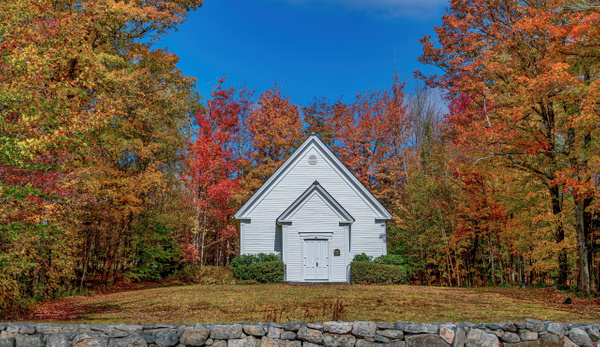 Randolph Church_New Hampshire - Clicking with Nature Photography