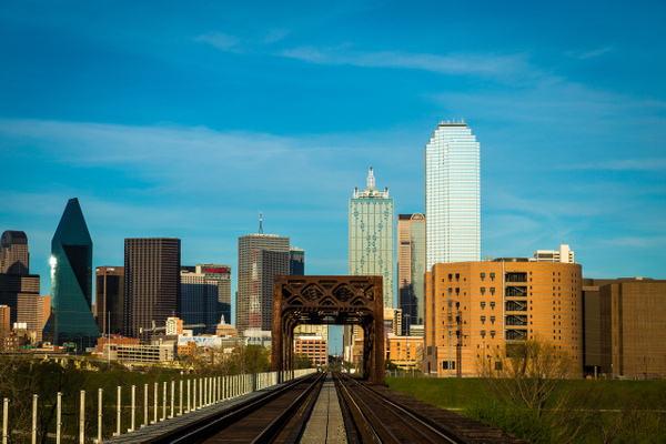 Dallas by Train - Cityscapes - John Roberts - Clicking With Nature®