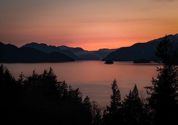 Howe Sound Sunset - Landscape - McKinlay Photo