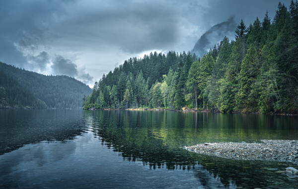 Beautiful Cloudy Days - Landscape - McKinlay Photo