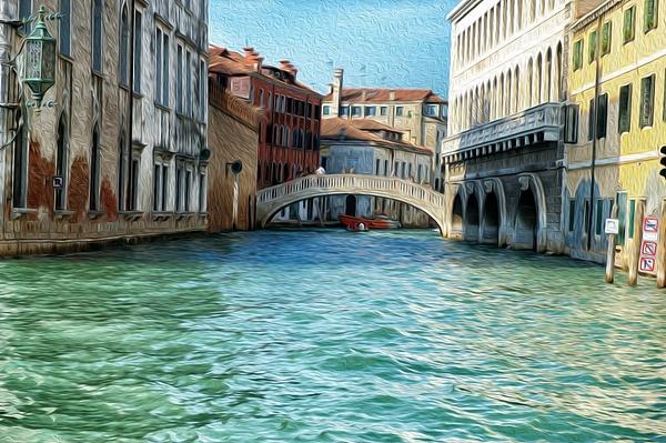 Venice - Oil Paint - MassimoUsai