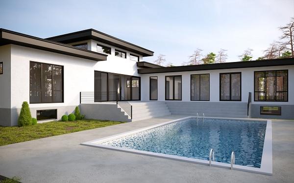 Exterior 3 - Rendering - Stellar Real Estate Marketing