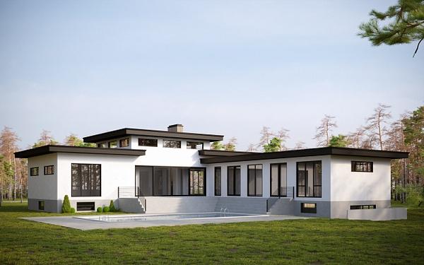 Exterior 2 - Rendering - Stellar Real Estate Marketing