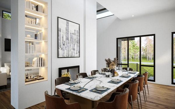 Interior_DiningRoom - Rendering - Stellar Real Estate Marketing