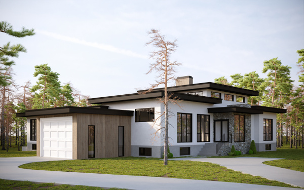 Exterior 1 - Rendering - Stellar Real Estate Marketing