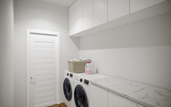 Interior_Laundry - Rendering - Stellar Real Estate Marketing