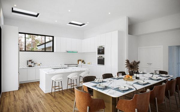 Interior_Kitchen - Rendering - Stellar Real Estate Marketing