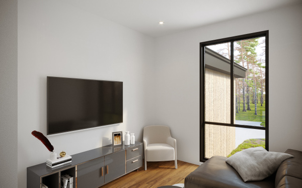 Interior_TVRoom - Rendering - Stellar Real Estate Marketing
