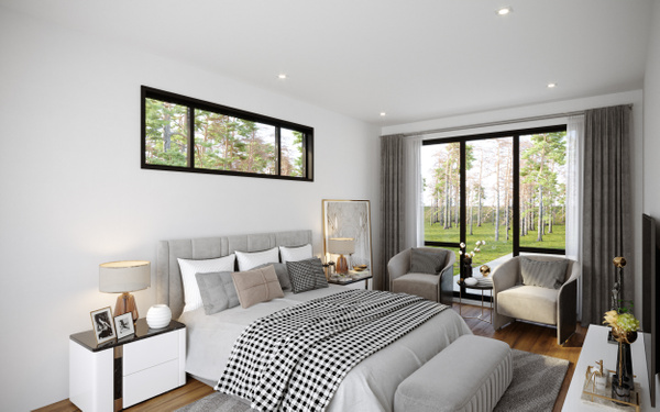 Interior_MasterBR - Rendering - Stellar Real Estate Marketing