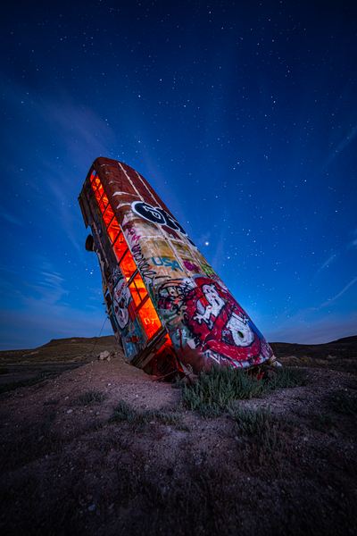 International Car Forest of the Last Church_Goldfield, NV_Ghostbusters - Home - Stan Pechner Photography