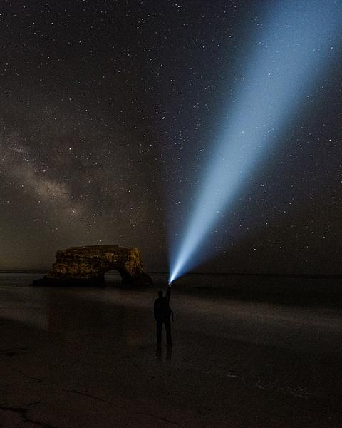 Natural Bridges_Milky Way - Nocturnal - Stan Pechner