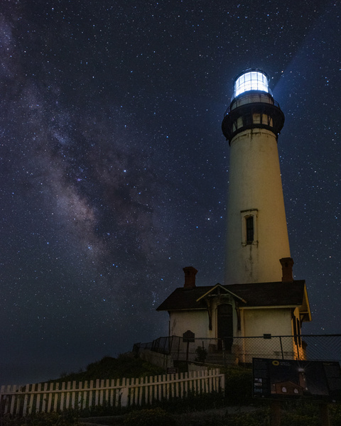 Pigeon Point_Milky Way - Nocturnal - Stan Pechner