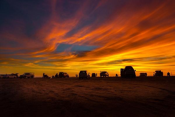 Pismo Beach_Sunset - Sun - Stan Pechner