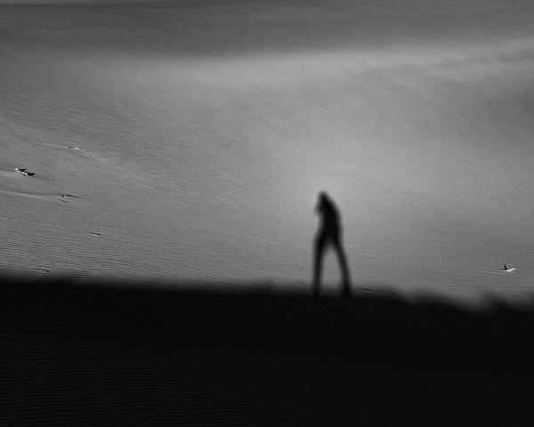 It Me_Death Valley_Mesquite Sand Dunes_Sunrise - Sand - Stan Pechner Photography