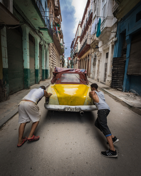 Havana Cuba_Vintage Car - Cuba - Sten Pechner