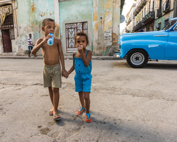 Havana Cuba_Brother Sister - Cuba - Sten Pechner