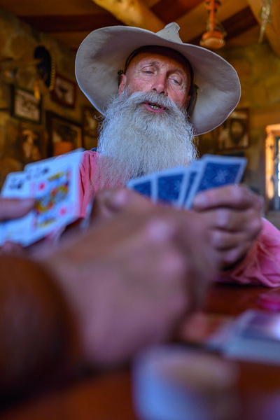 Cowboy Poker - Face - Stan Pechner