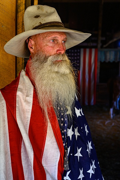 Old Glory - Face - Stan Pechner