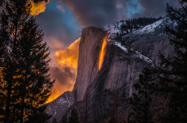 Fire Falls_Yosemite_Sunset_Nature - Home - Stan Pechner Photography