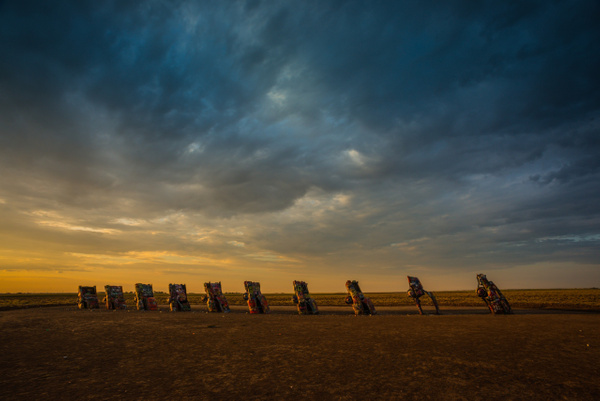Cadillac Ranch_Sunrise - Home - Stan Pechner Photography