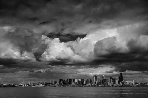 Seattle: City skyline from West Seattle - Spotlight: Seattle - Jonathan C. Watson Photography
