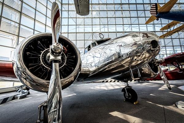 Seattle: Lockheed Model 10-E Electra (Museum of Flight) - Spotlight: Seattle - Jonathan C. Watson Photography