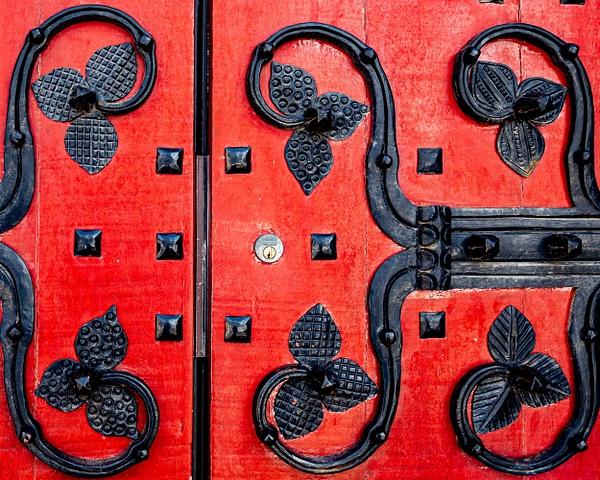 Heinz Chapel - Front Door - Travel Destinations - John Dukes Photography