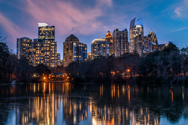 Atlanta-3 - Cityscape Photography - John Dukes Photography