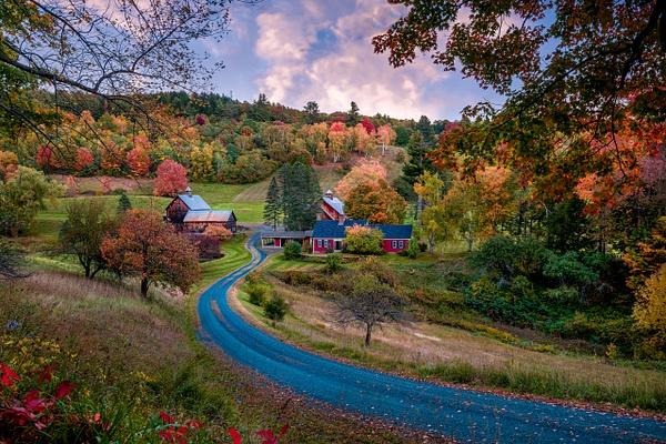 Sleepy Hollow Farm, Woodstock VT - Fine Art Photographer and Wall Art Photography