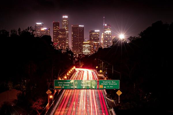 Los Angeles Freeway-1 - Cityscape Photography - John Dukes Photography